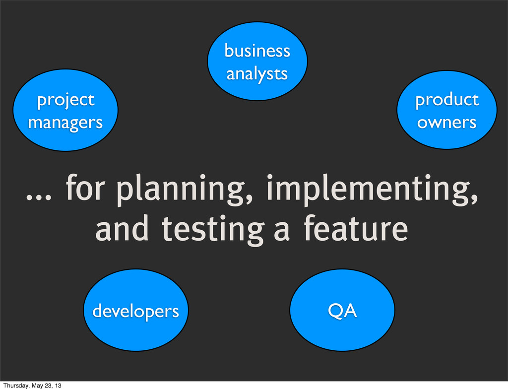 ... for planning, implementing, and testing a f...