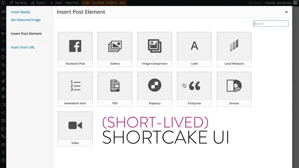 @marktimemedia (SHORT-LIVED) SHORTCAKE UI