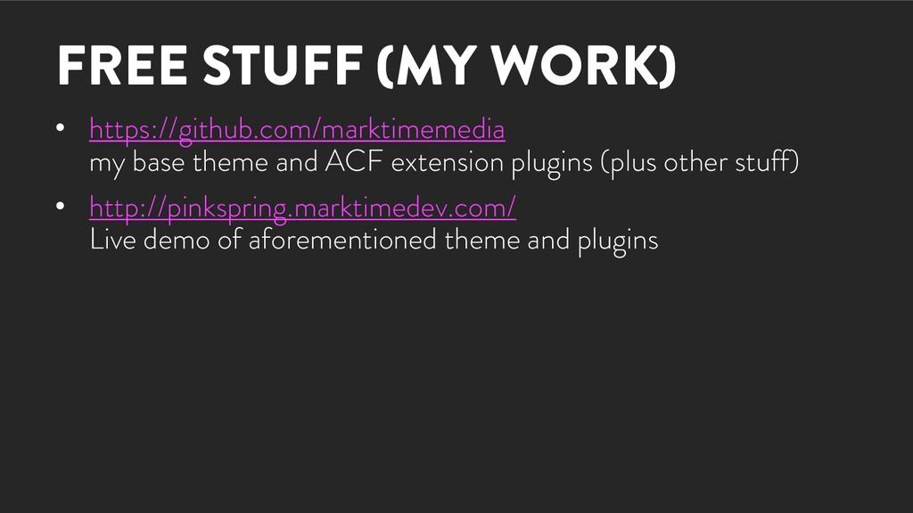 FREE STUFF (MY WORK) • https://github.com/markt...
