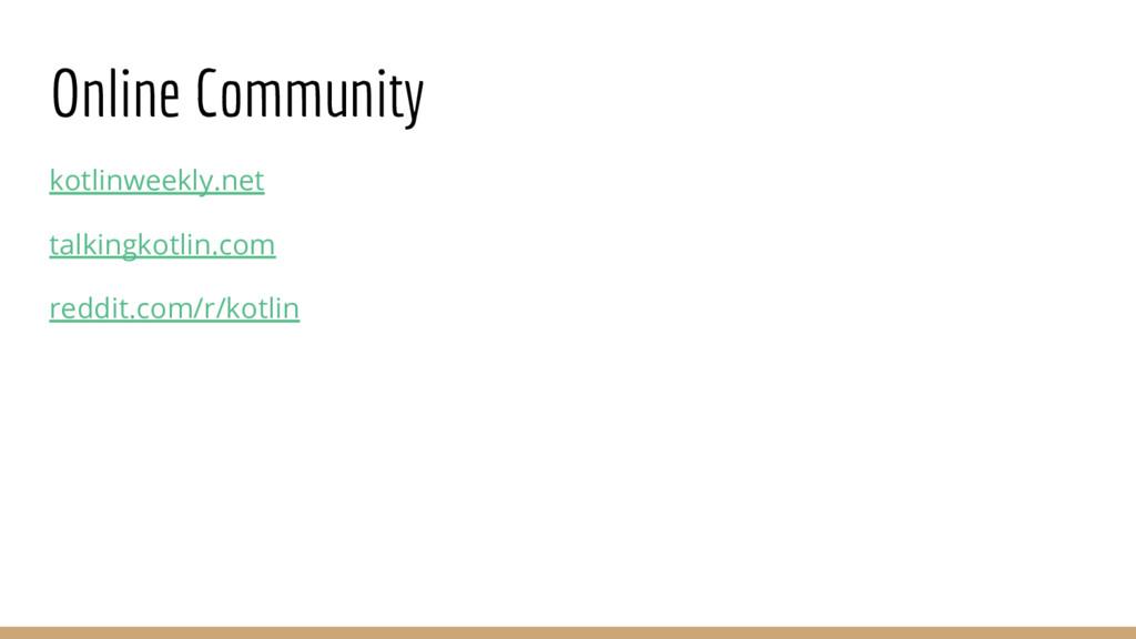 Online Community kotlinweekly.net talkingkotlin...
