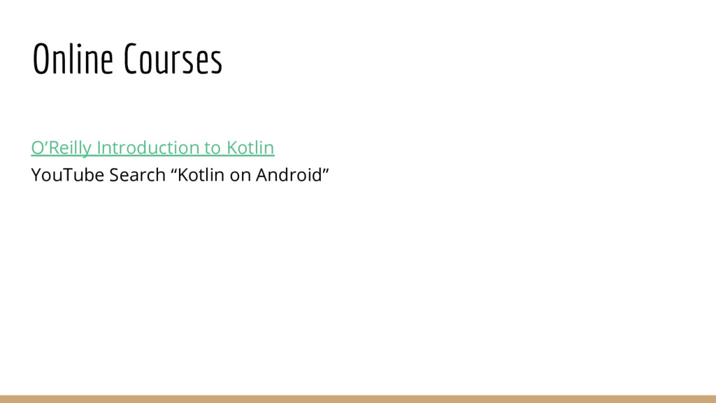 Online Courses O'Reilly Introduction to Kotlin ...