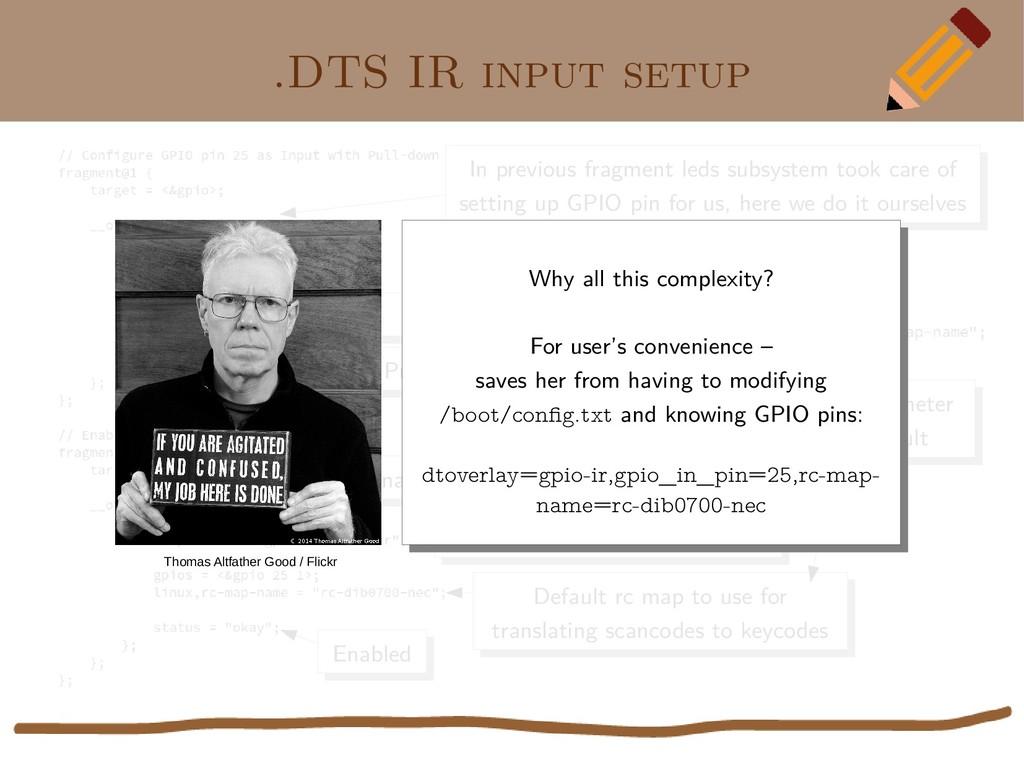 .DTS IR input setup In previous fragment leds s...