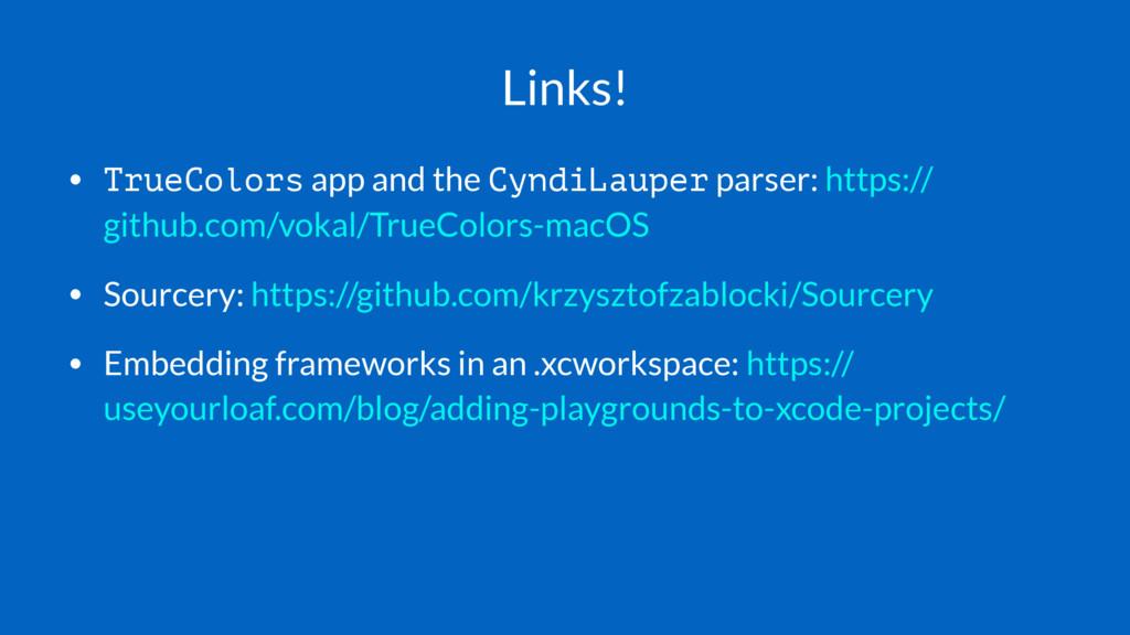 Links! • TrueColors app and the CyndiLauper par...