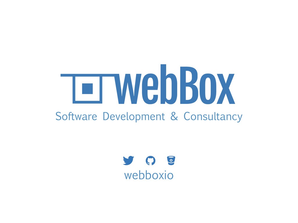Software Development & Consultancy webboxio