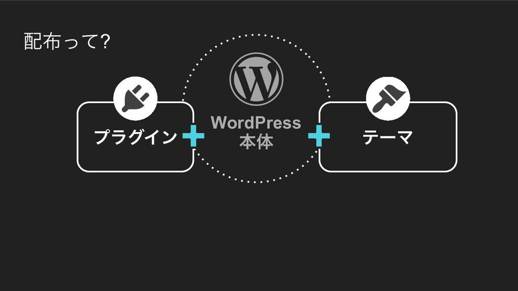 ͬͯ? WordPress ຊମ ϓϥάΠϯ ςʔϚ