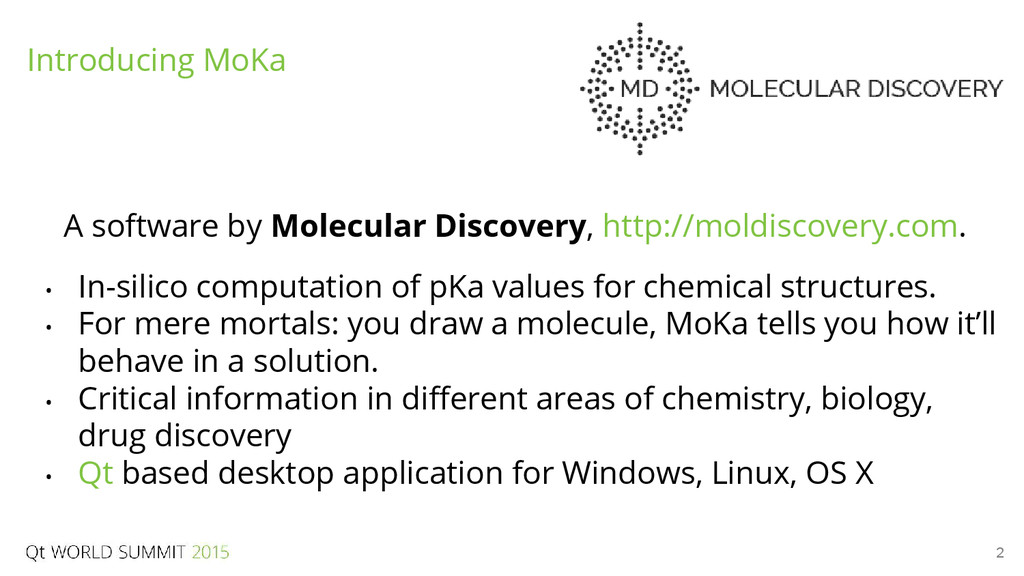 2 A software by Molecular Discovery, http://mol...