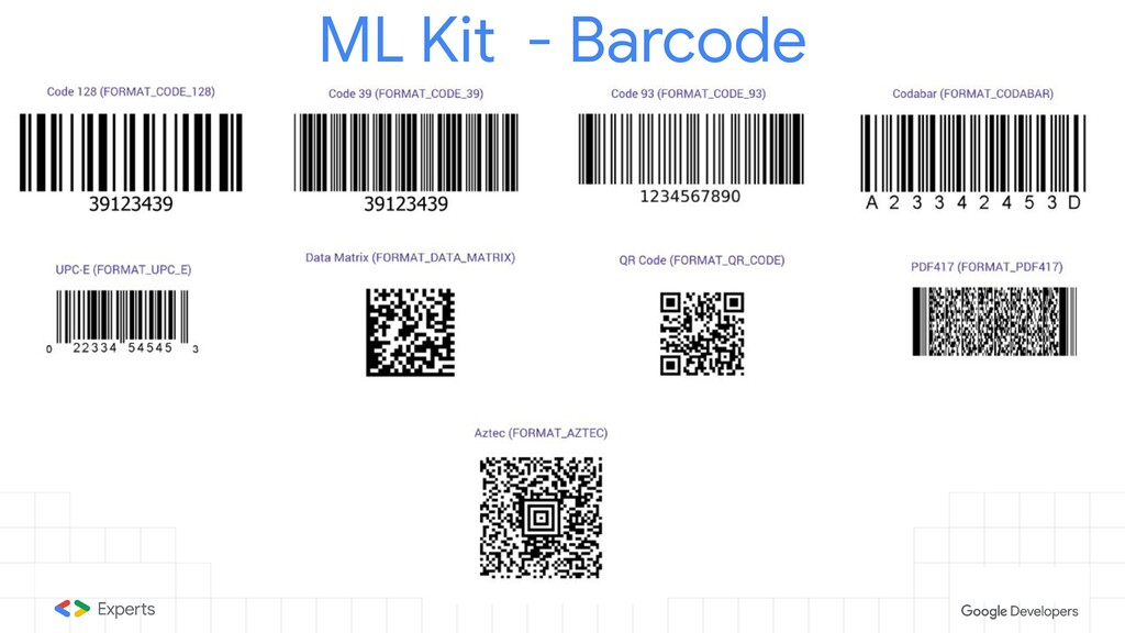 ML Kit - Barcode