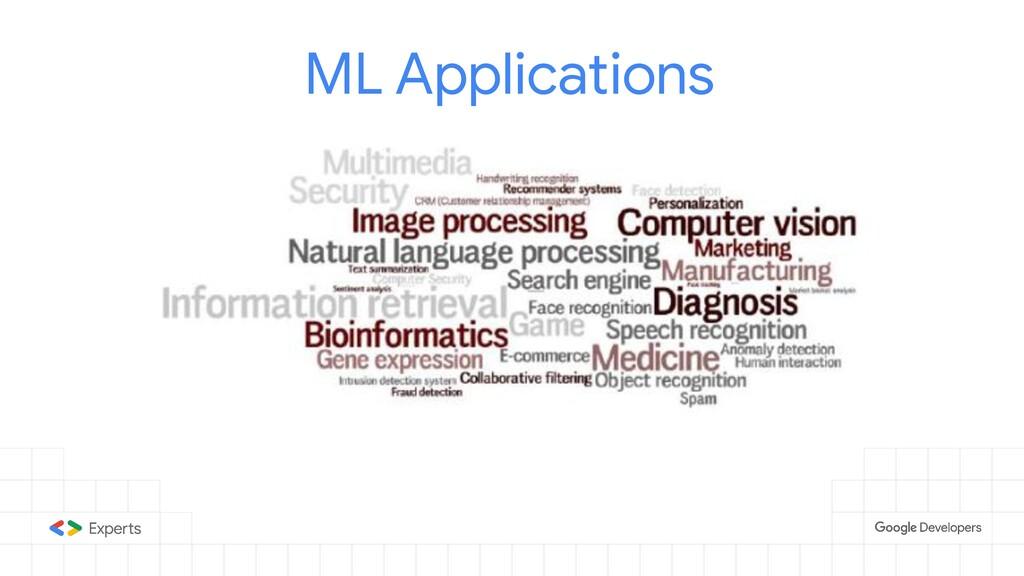 ML Applications