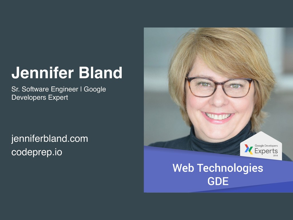 Jennifer Bland Sr. Software Engineer | Google D...