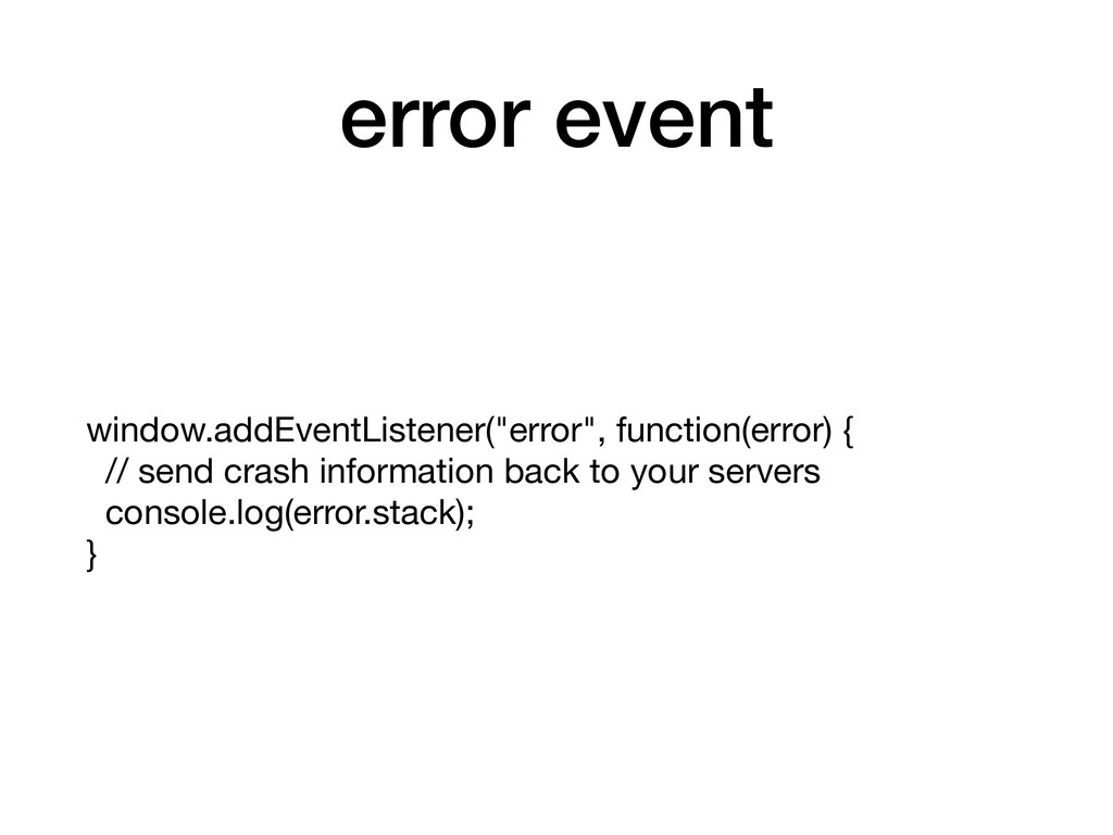 "error event window.addEventListener(""error"", fu..."