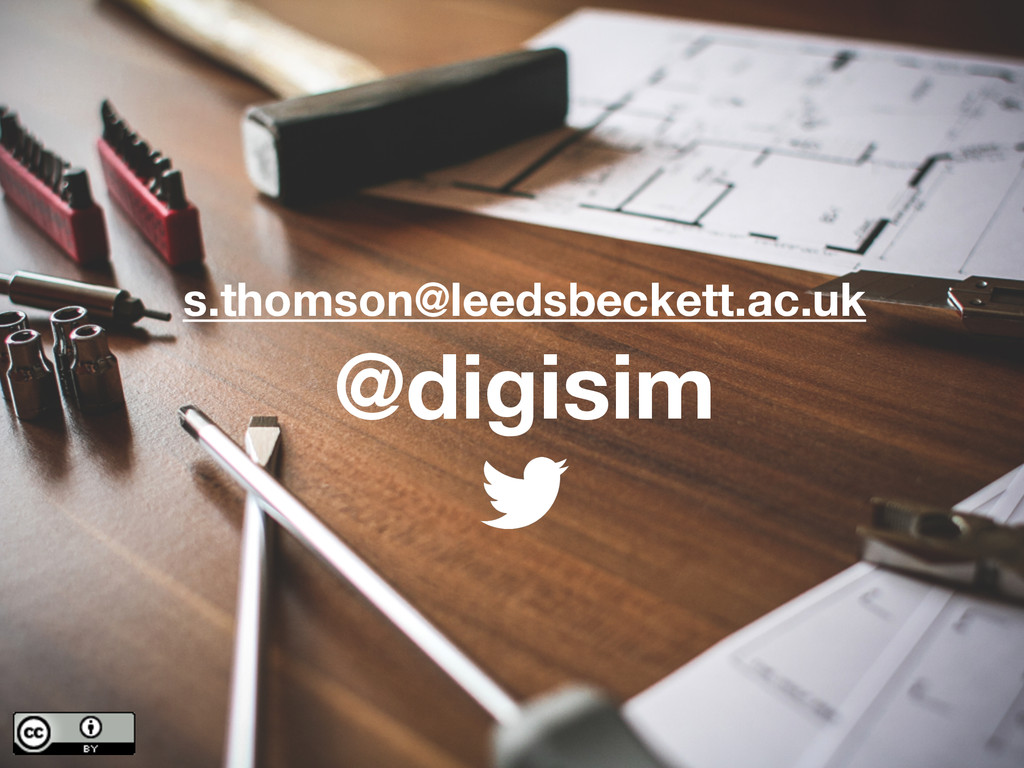 @digisim s.thomson@leedsbeckett.ac.uk