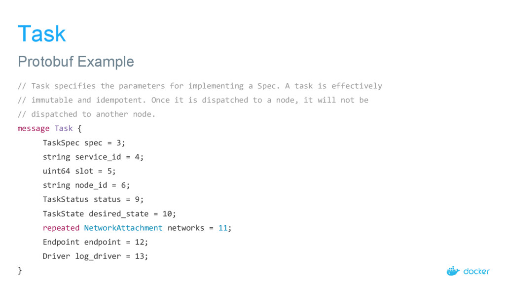 Task // Task specifies the parameters for imple...