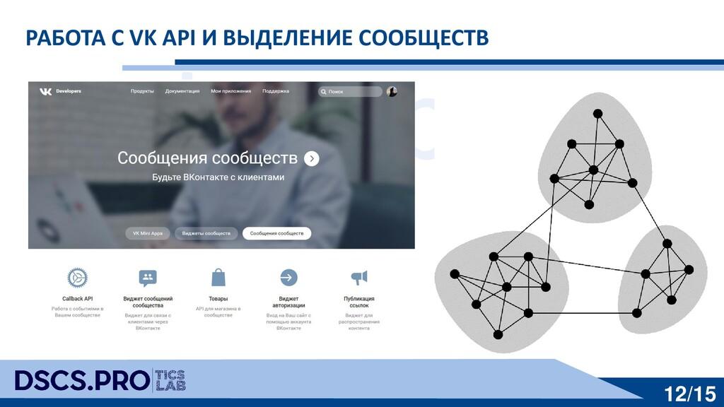 dscs.pro 12/15 РАБОТА С VK API И ВЫДЕЛЕНИЕ СООБ...