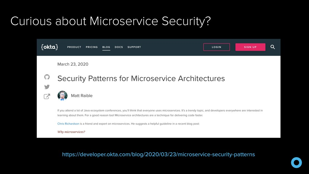 Curious about Microservice Security? https://de...