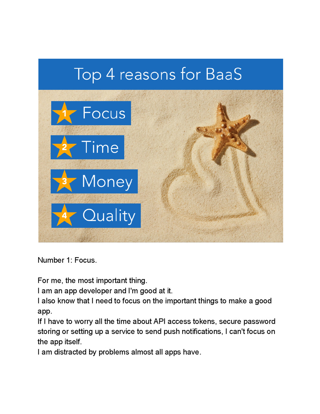 Number 1: Focus. For me, the most important thi...