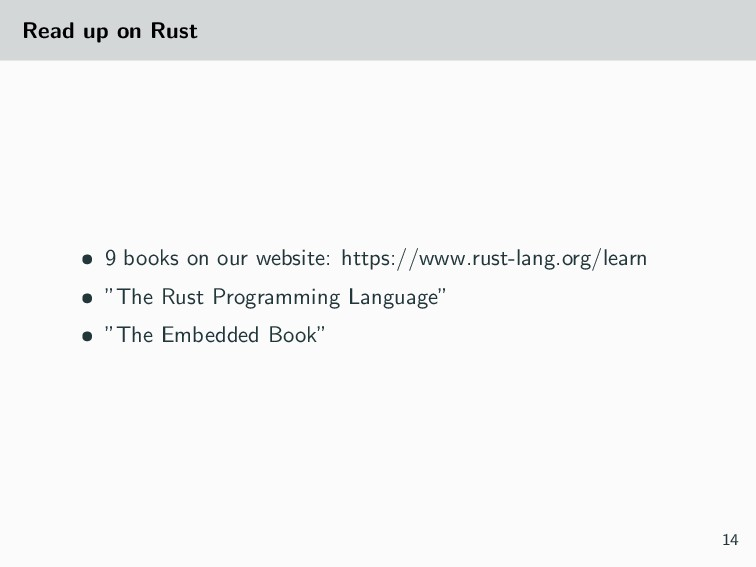 Read up on Rust • 9 books on our website: https...