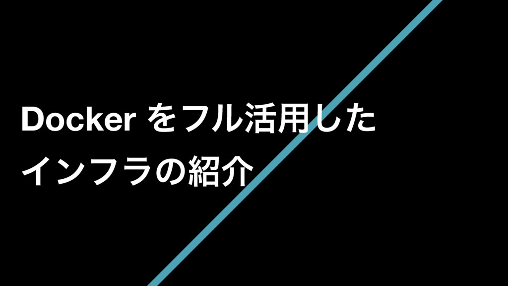 Docker Λϑϧ׆༻ͨ͠ Πϯϑϥͷհ