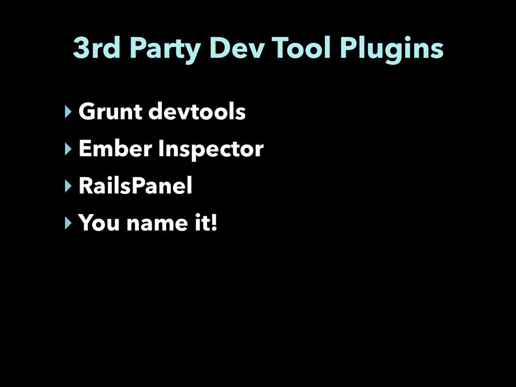 3rd Party Dev Tool Plugins ‣ Grunt devtools ‣ E...