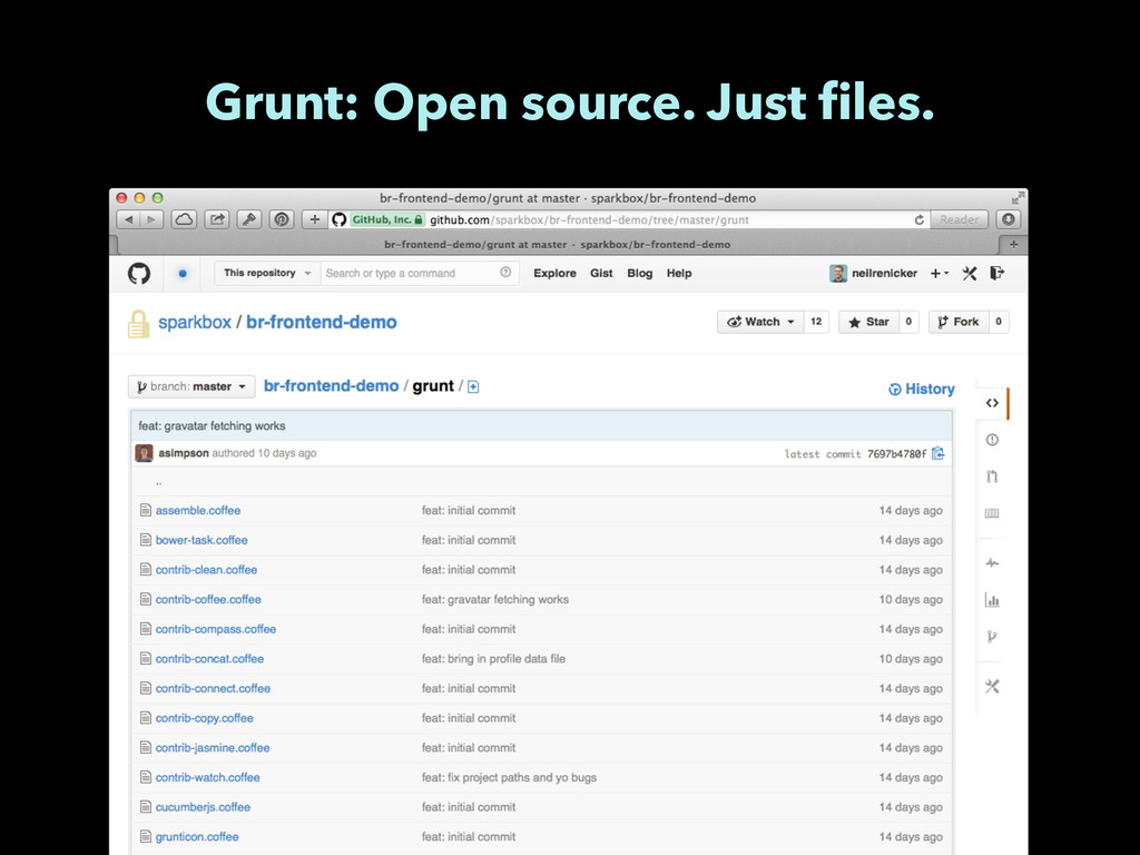 Grunt: Open source. Just files.