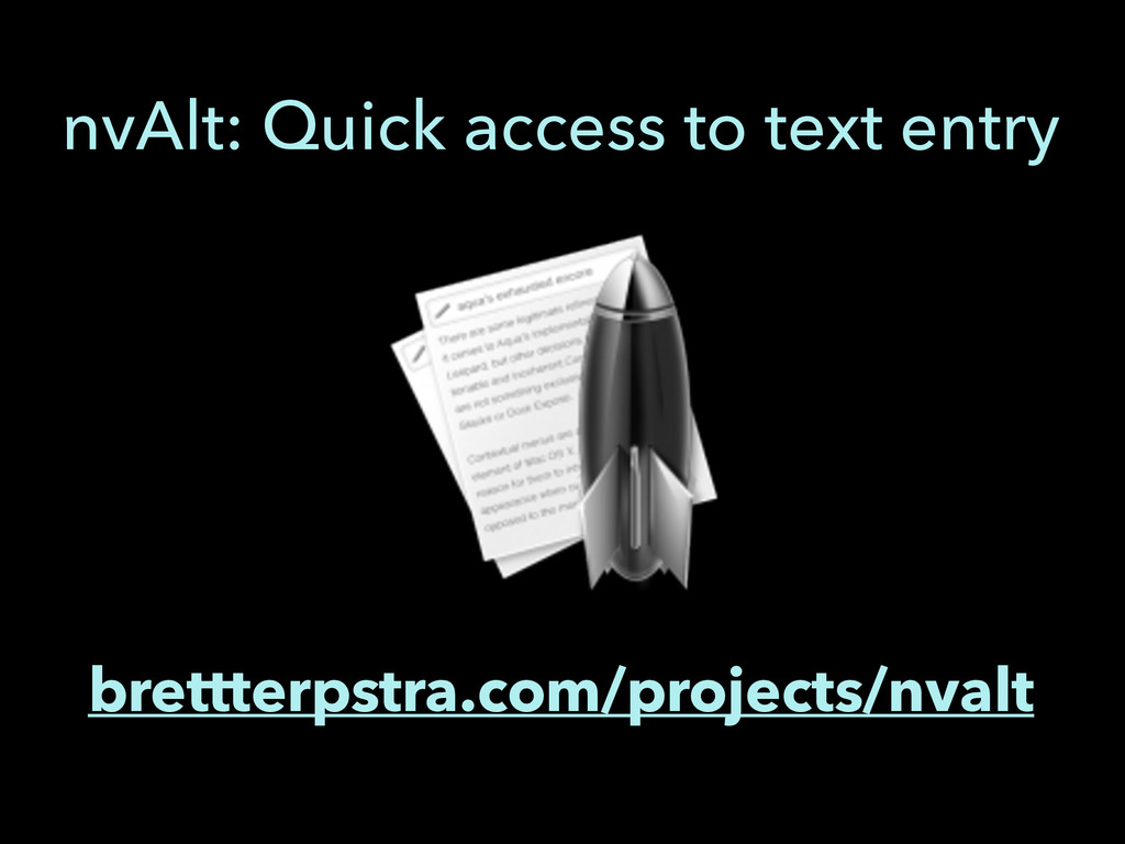 brettterpstra.com/projects/nvalt nvAlt: Quick a...