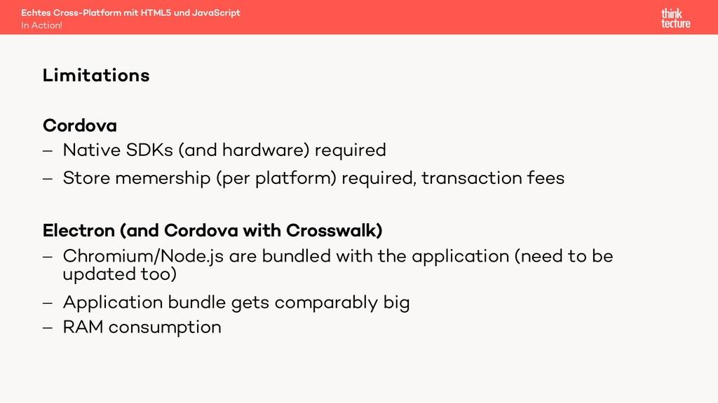 Cordova - Native SDKs (and hardware) required -...