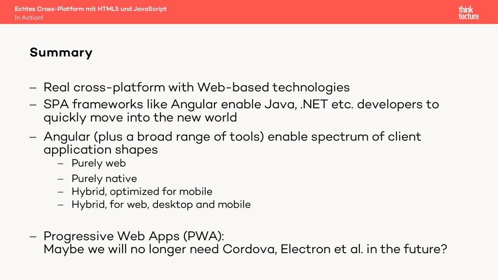 - Real cross-platform with Web-based technologi...