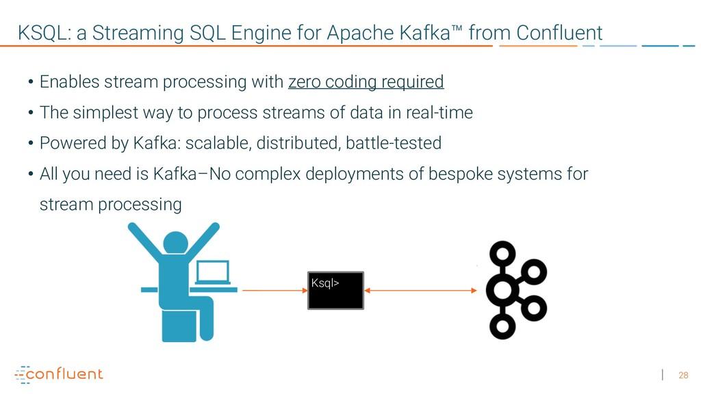 28 KSQL: a Streaming SQL Engine for Apache Kafk...
