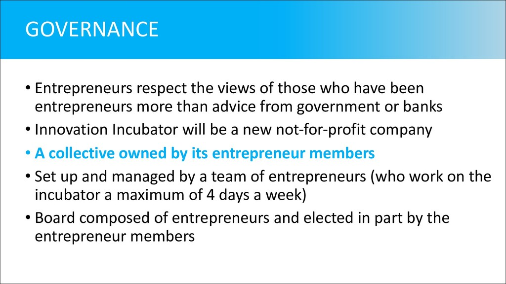 • Entrepreneurs respect the views of those who ...