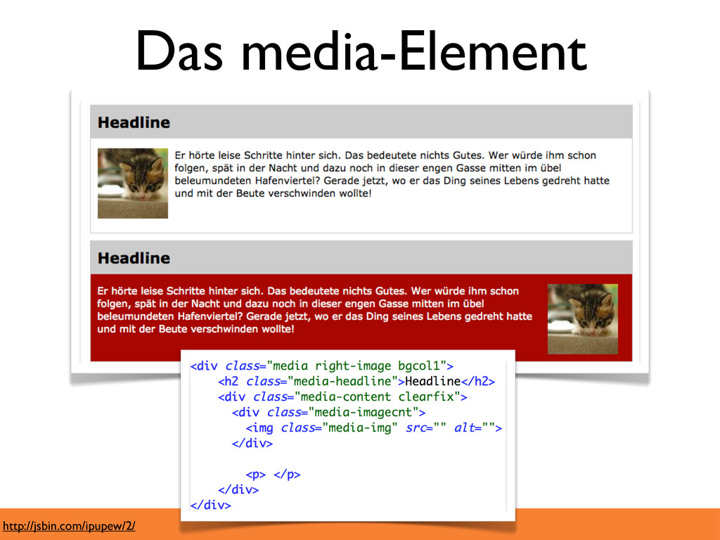 Das media-Element http://jsbin.com/ipupew/2/