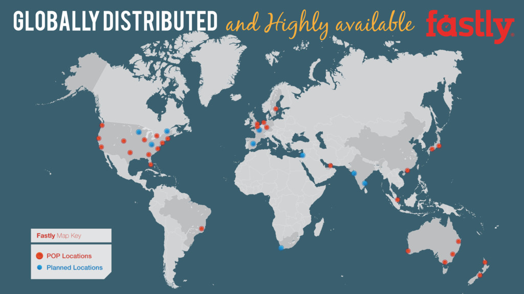 Globally distributed and Highly available