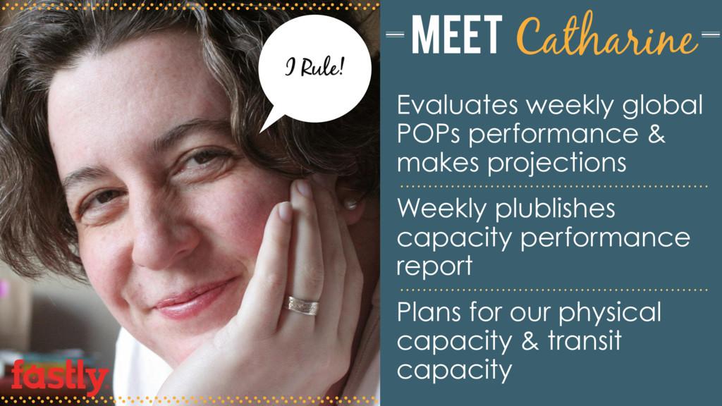 I Rule! Evaluates weekly global POPs performanc...