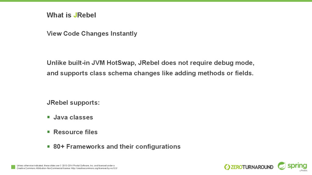 What is JRebel View Code Changes Instantly Unli...