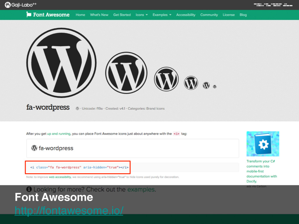 Font Awesome http://fontawesome.io/