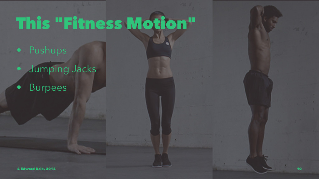 "This ""Fitness Motion"" • Pushups • Jumping Jacks..."
