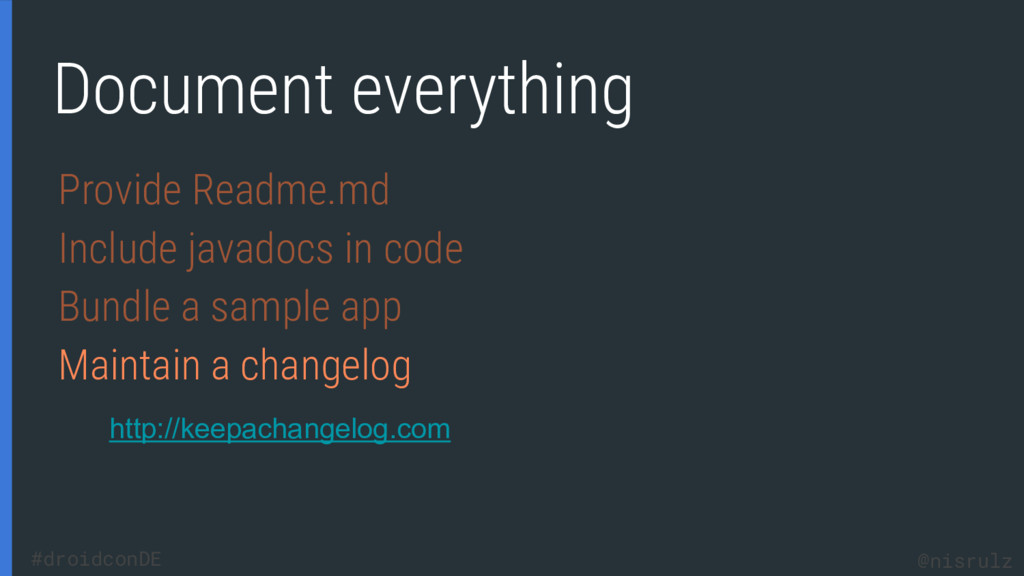 Document everything Provide Readme.md Include j...