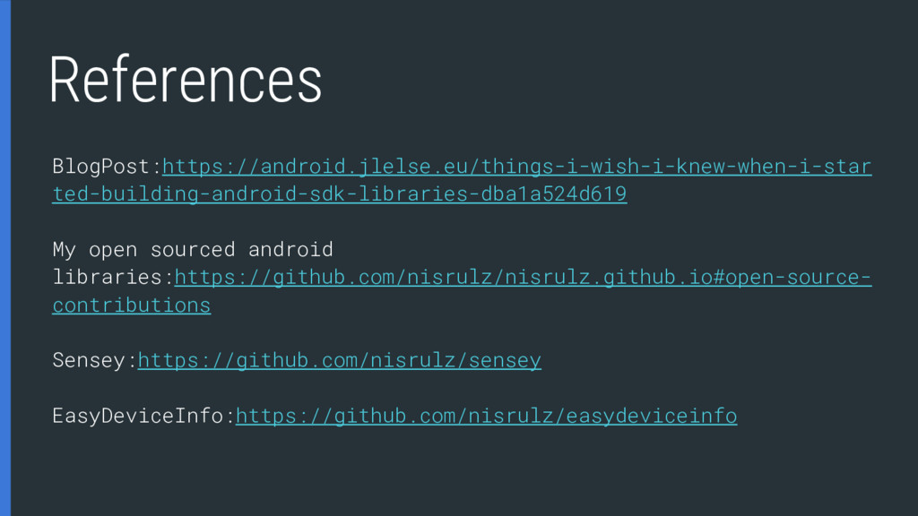 References BlogPost:https://android.jlelse.eu/t...