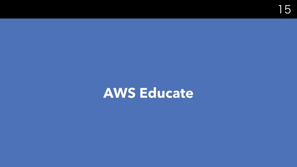AWS Educate