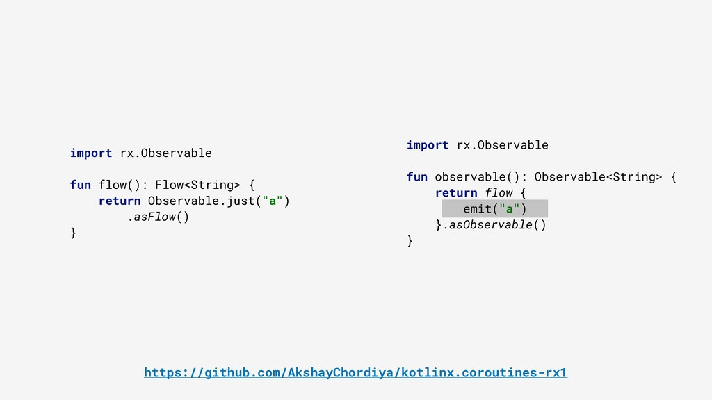 import rx.Observable fun observable(): Observab...