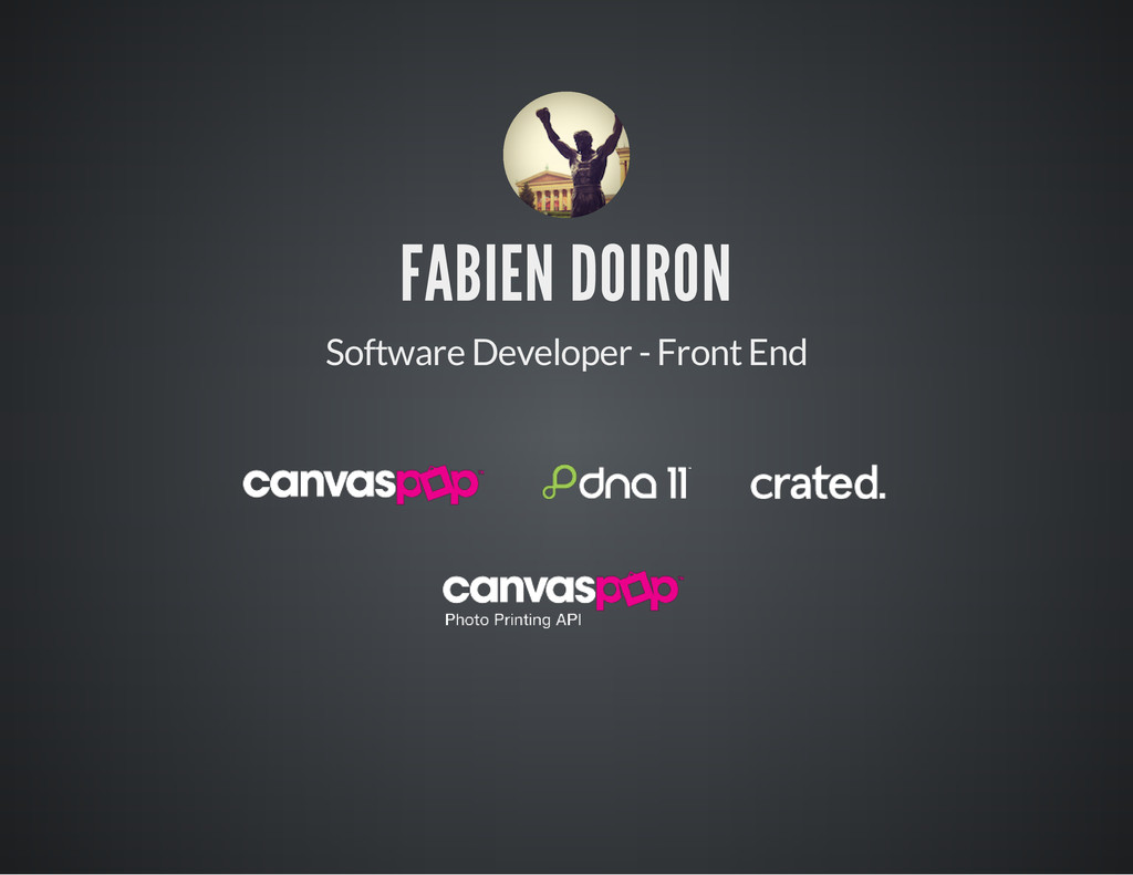 FABIEN DOIRON Software Developer - Front End