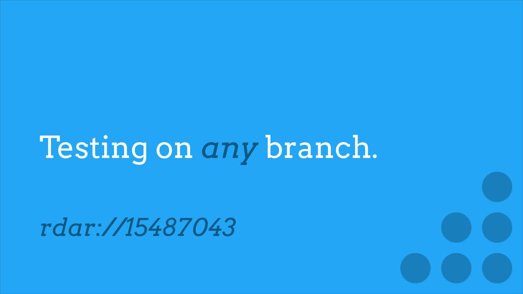 Testing on any branch. rdar://15487043