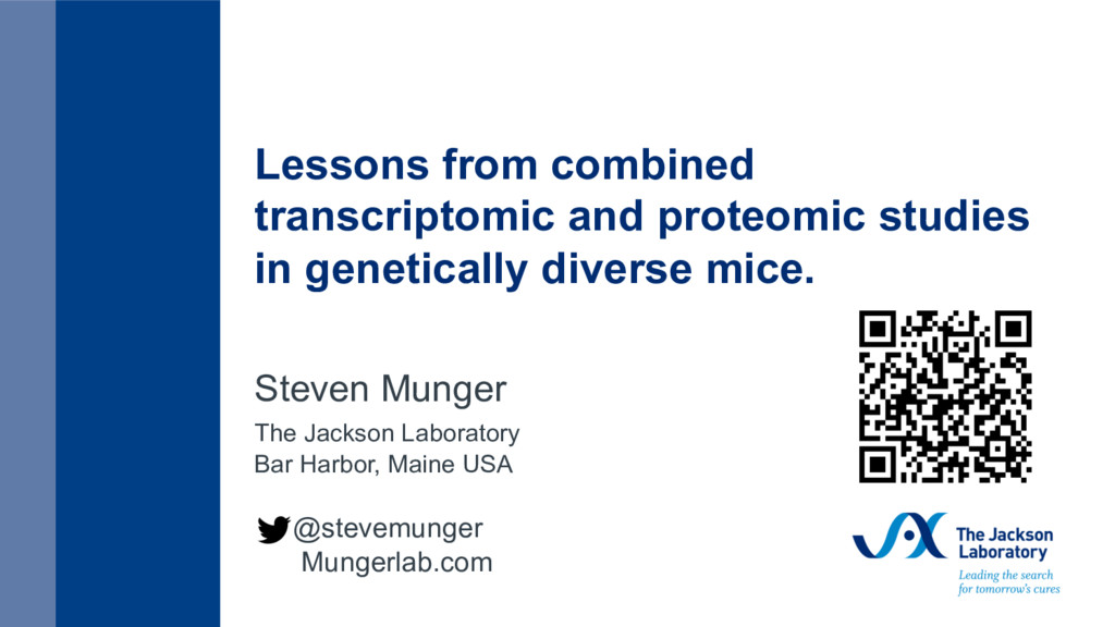 Lessons from combined transcriptomic and proteo...