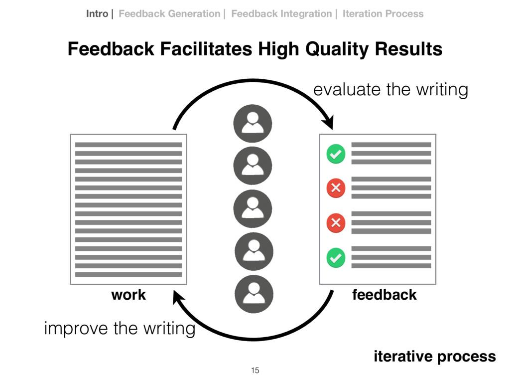 15 evaluate the writing improve the writing Fee...