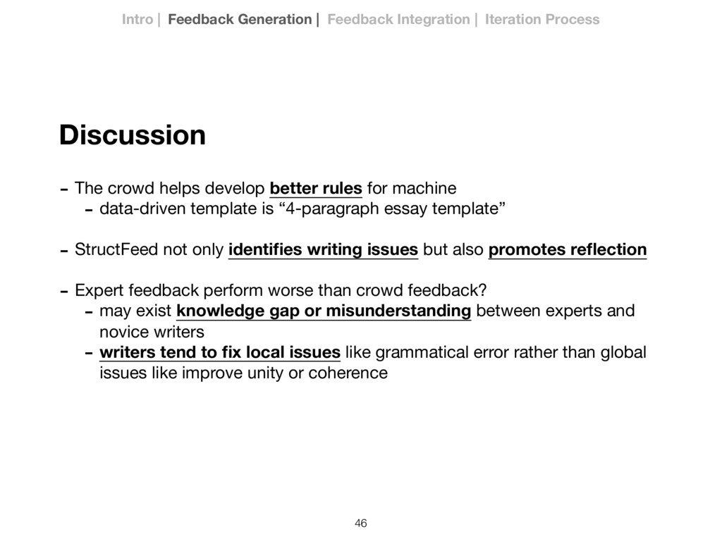46 Discussion - The crowd helps develop better ...