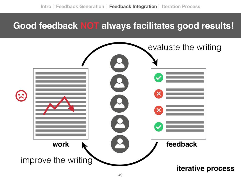 49 evaluate the writing improve the writing fee...