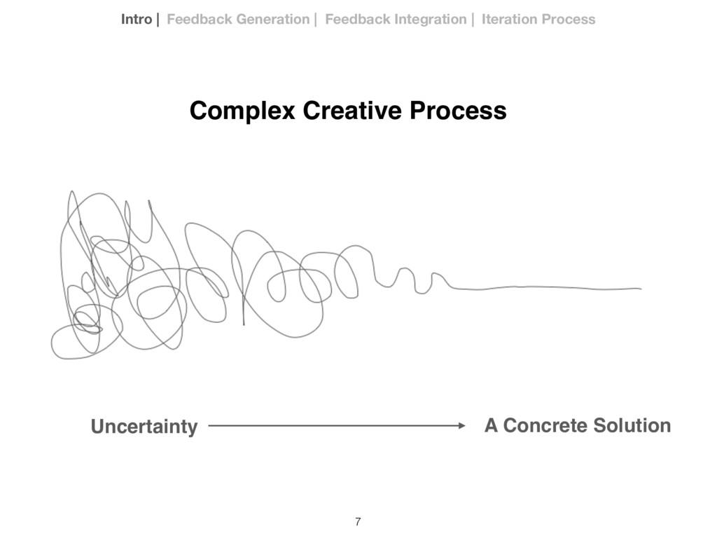 7 Complex Creative Process Uncertainty A Concre...