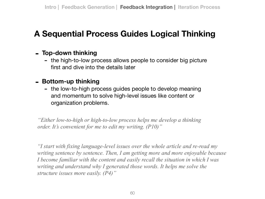 60 - Top-down thinking - the high-to-low proces...