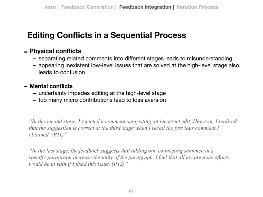 61 Editing Conflicts in a Sequential Process - P...