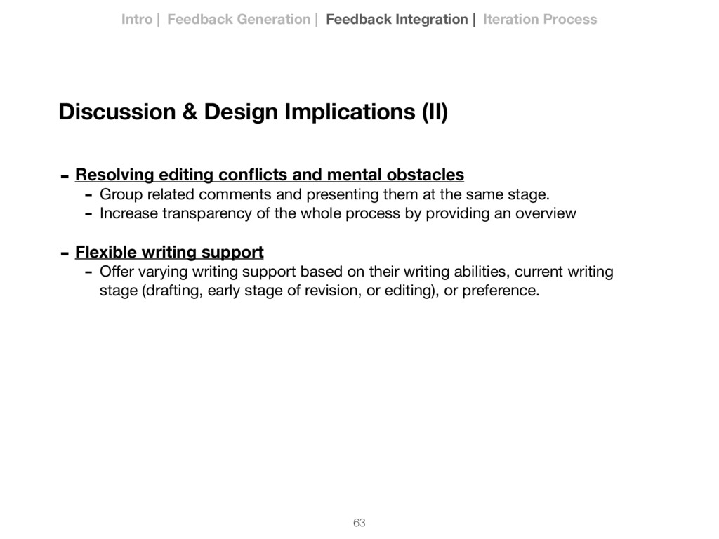 63 - Resolving editing conflicts and mental obst...