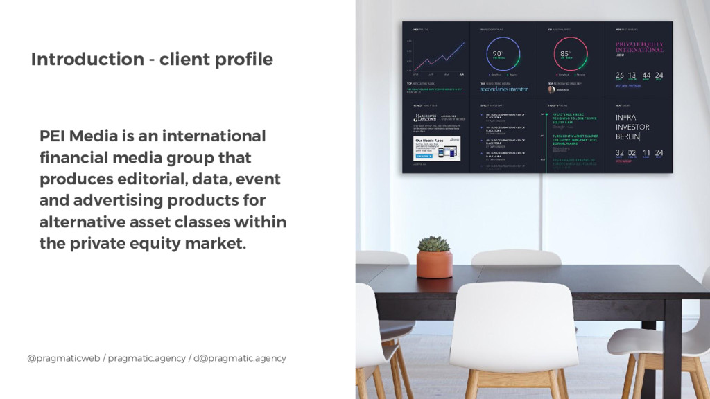 Introduction - client profile PEI Media is an i...