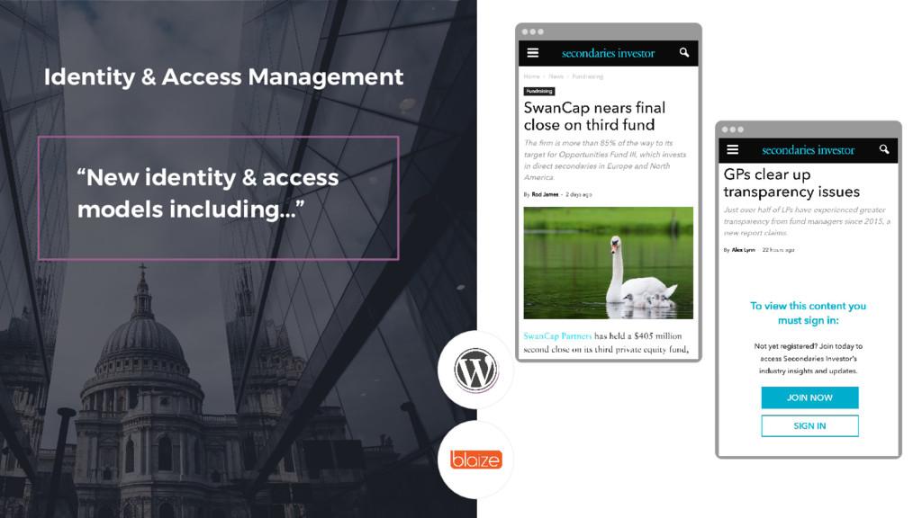 Screenshot without paywall Identity & Access Ma...